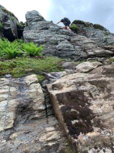 Eggenipa - en av flere klatreparti